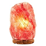 SMAGREHO Himalayan Salt Light Natural Hand Carved Crystal Rock Stone Lamp with UL Dimmer Switch (7-8inch,5-8lbs)