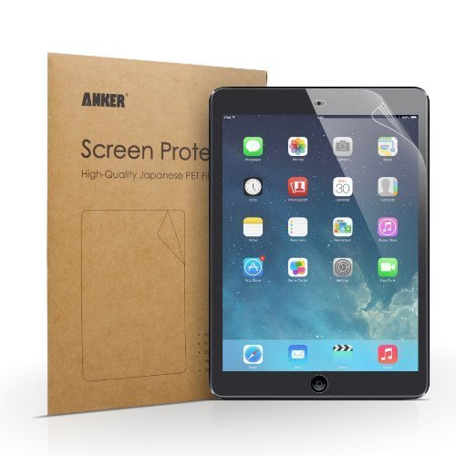 [2-Pack] Anker Matte Schutzfolie für iPad Air 2 iPad Air iPad 5 / iPad Pro 9.7 Displayschutz Screen Protector - Matt - AntiReflex - Beste Qualität aus Japanischem PET Material