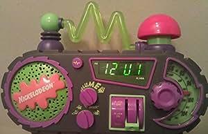 Nickelodeon Time Blaster AM/FM Alarm Clock Radio