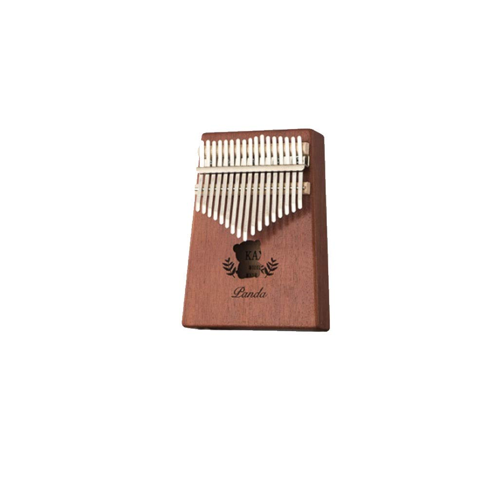 Youshangshipin Thumb piano, retro 17-key Kalimba, suitable for beginners professional performance and student general style, (gifts; plus velvet storage bag + note stickers tuning hammer finger sets)