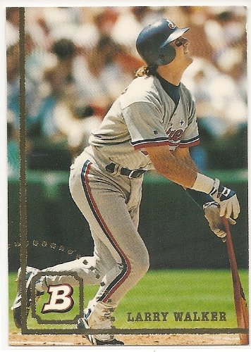 Larry Walker 1994 Bowman Montreal Expos Card #500