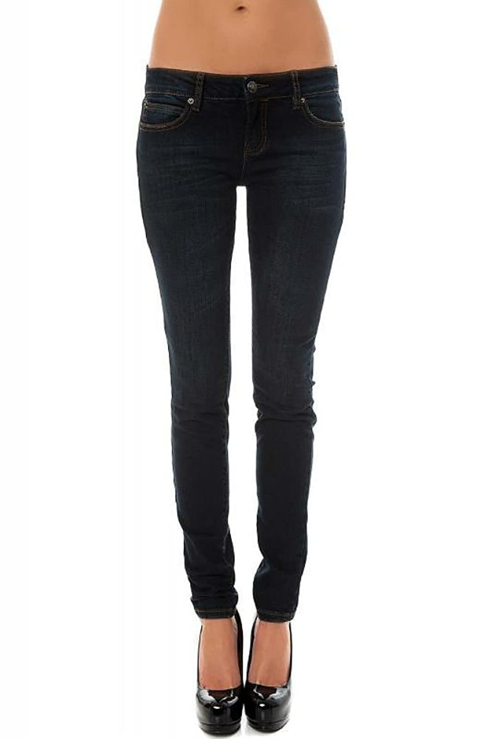 Lip Service Women's Indigo Denim Punk Rocker Needle Fit Skinny Jeans