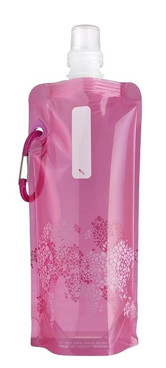 Vapur Reflex- Botella reutilizable de plástico, para agua- rosa, 0,5 litros: Amazon.es: Deportes y aire libre