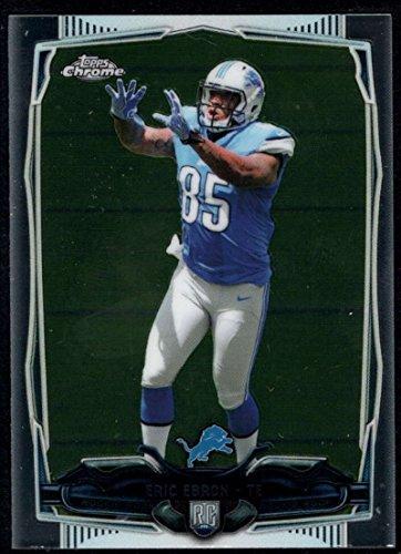 2014 Topps Mini Chrome #213 Eric Ebron Lions NFL Football Card (RC - Rookie Card) NM-MT ()