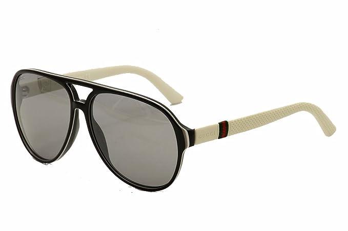 716414eee1b4 Gucci Unisex Adult Aviator Sunglasses in Blue Rubber GG 1065/S 4UV 59