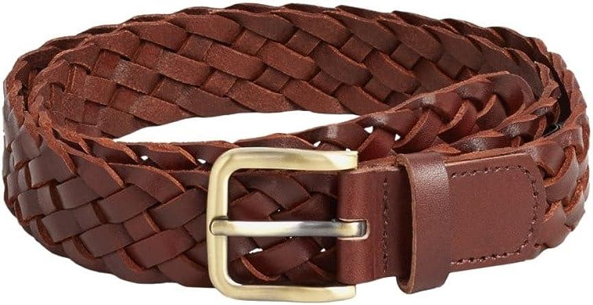 MANGO MAN - Cinturón - para hombre marrón 90: Amazon.es: Ropa ...