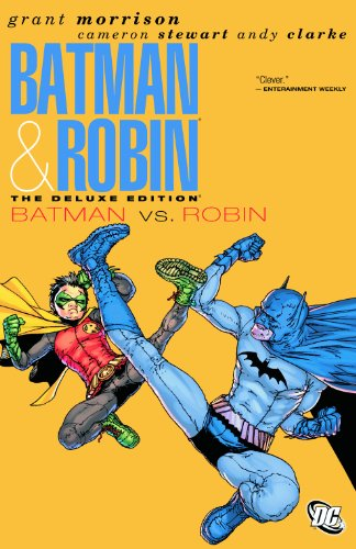 Batman And Robin Deluxe HC Vol 2 Batman Vs Robin (Batman And Robin Vol 2 Batman Vs Robin)