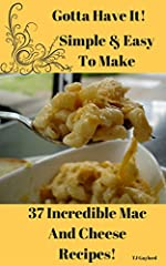 Discover Creativity & Expand Your Mac & Cheese World W/ Liquid Gold when you get my all-star, easy-to-follow Macaroni and Cheese recipe cookbook. Creamy, cheesy macaroni with a light, crunchy topping. This is the mac and cheese that d...