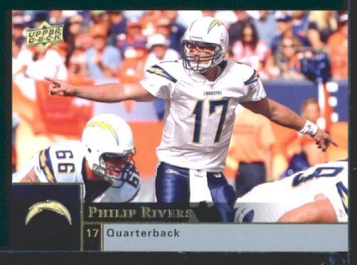 Philip Rivers - Chargers - 2009 Upper Deck NFL Trading Card
