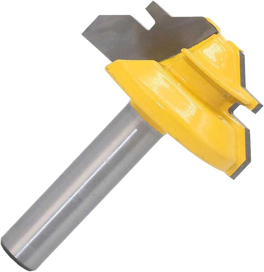 Hartmetalllegierung Material Oberfräser Gehrung Nutfräser 8mm Schaft