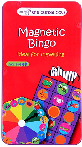 The Purple Cow Animal Bingo Game - Car Games , Airplane Games and Quiet Games