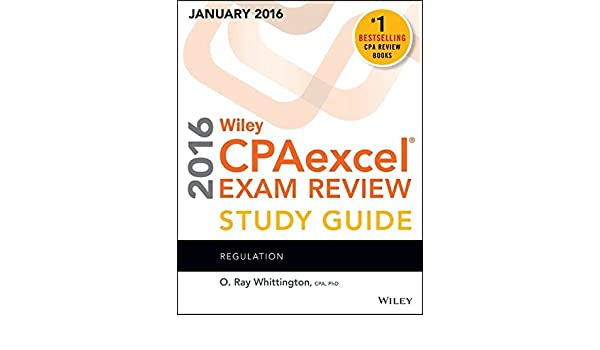 Wiley CPAexcel Exam Review 2016 Study Guide January ...
