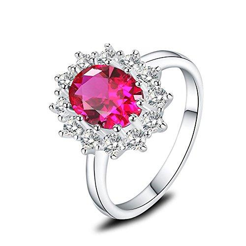 Diana Ruby Ring - 5