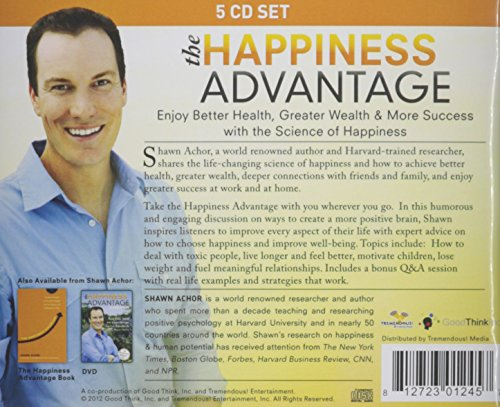 The Happiness Advantage – Shawn Achor – 5 CD Set