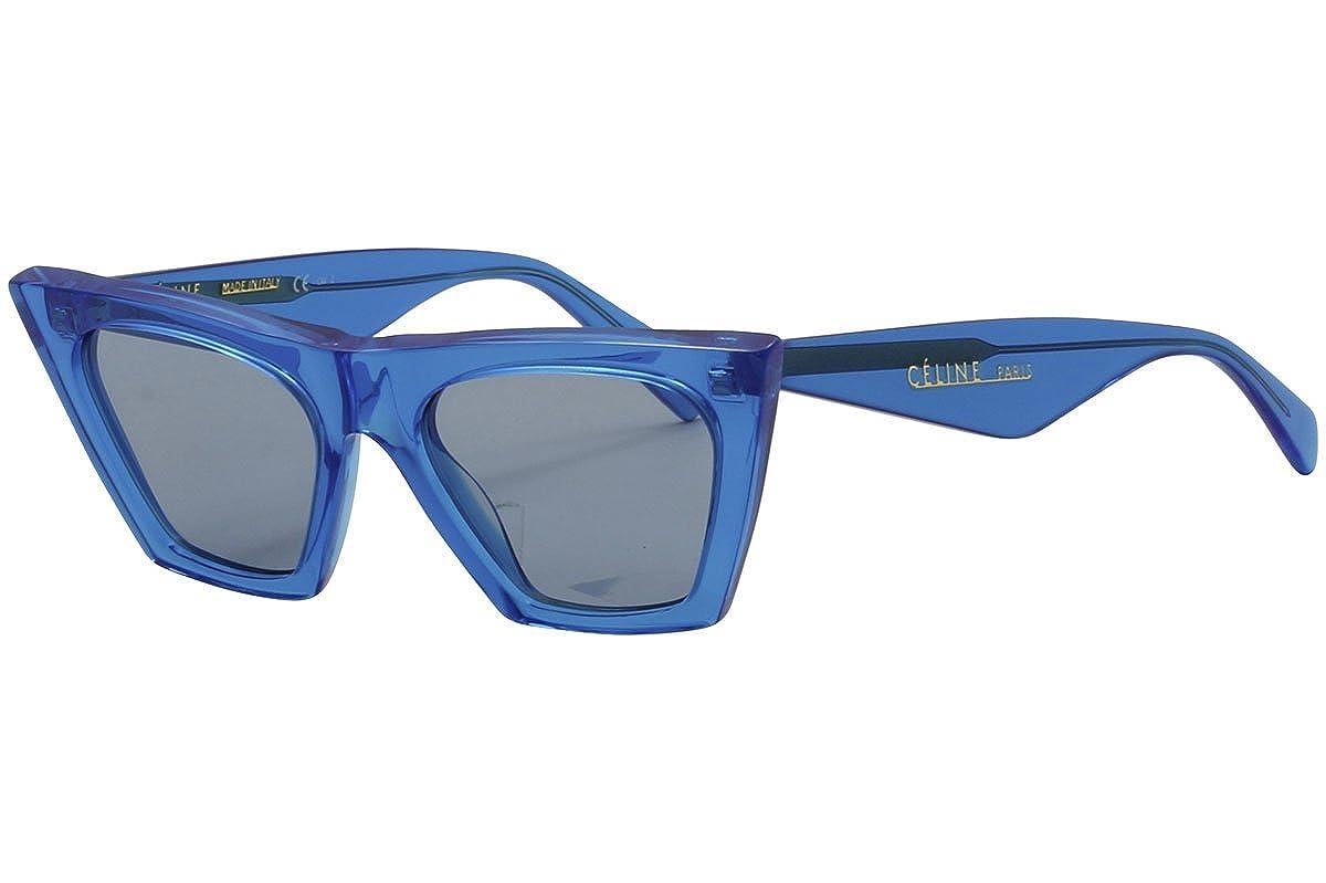 46b52c54674 Amazon.com  Celine CL41468 S GEG Blue CL41468 S Cats Eyes Sunglasses Lens  Category 2 Size 5  Clothing