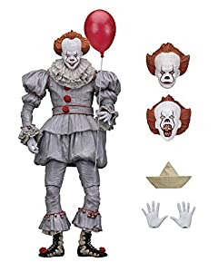 "NECA 7"" Scale Action Figure-Ultimate Pennywise (2017)"