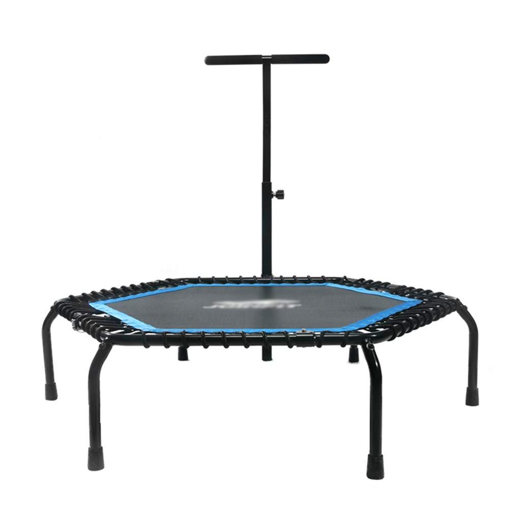 Gartentrampoline Mini-Trampolin, Indoor mit Armlehnen-Trampolin Heimgymnastik-Trampolin Unterhaltung für Erwachsene Fitness-Prallbett Outdoor-Kindertrampolin, ca. 100 kg tragend Trampoline