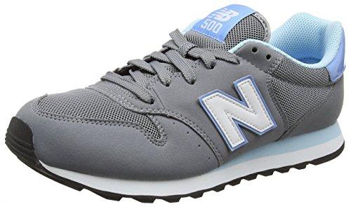 Zapatillas Mujer grau Gm Balance para weiß hellblau gw500v1 New pnxtaOcWqq