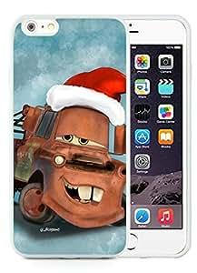 Fashion Style iPhone 6 Plus Case,Christmas Mater White iPhone 6 Plus 5.5 TPU Case 1