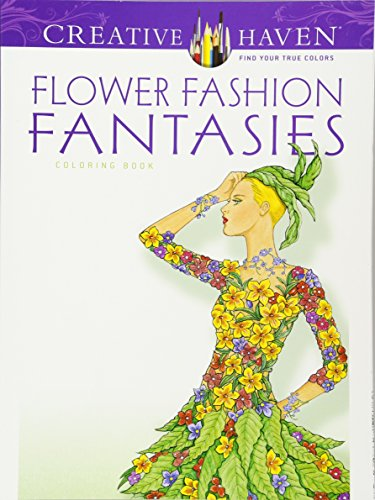 Funny Commercial Costume Ideas (Dover Publications Flower Fashion Fantasies (Adult Coloring))