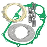 #10: CALTRIC CLUTCH FRICTION PLATES w/GASKET KIT Fits YAMAHA XVS650 V-Star 650 Classic 1998-2010