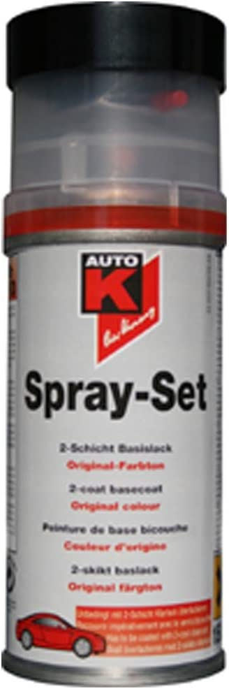 Auto K Spray Set Basislack Mercedes Brillantsilber 744 150ml Auto