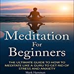 Meditation for Beginners: The Ultimate Guide to How to Meditate Like a Guru to Get Rid of Stress and Anxiety | Mark Hamman