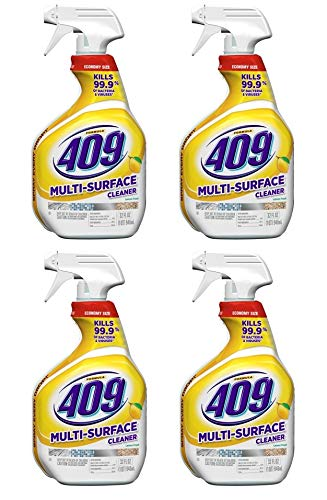 Formula 409 Multi-Surface Cleaner, 32 ounces Spray Bottle, Lemon