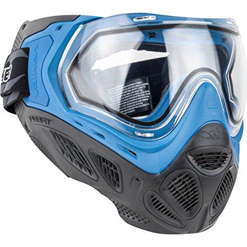 Valken Profit SC Paintball Goggle/Mask with Dual Pane Thermal Lens - Quick Change Foam - Blue (Jt Proflex Thermal Paintball Goggles)
