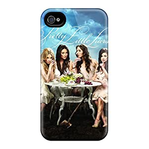 LavernaCooney Apple Iphone 4/4s Perfect Hard Phone Cases Allow Personal Design Vivid Pretty Little Liars Poster Skin [asN23541gqix]