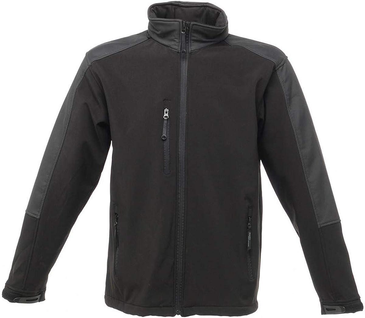 Regatta Professional Mens Uproar Warm Backed Water Repellent Softshell Jacket