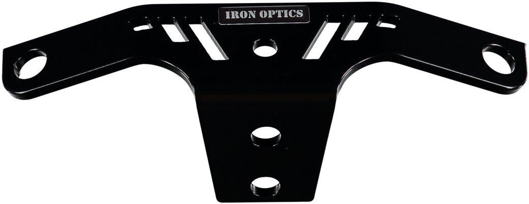 Color:schwarz matt;Motorradmodell:Harley Davidson Iron 883 Iron Optics Motorrad Z/ündspulenhalter 1