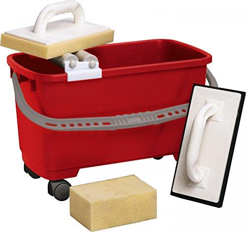 TRIUSO Fliesenleger-Waschset 4-teilig 22 Liter