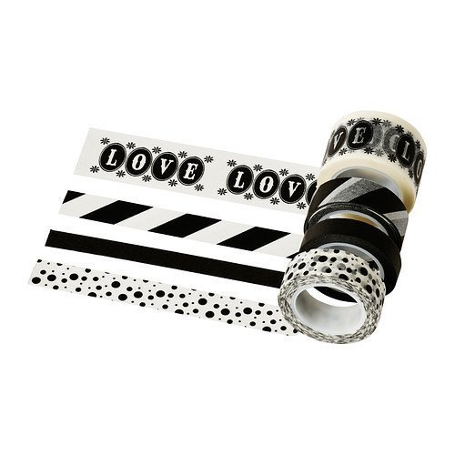 Ikea Washi Tape, 4 rolls FRAMSTALLA