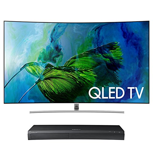 "Samsung QN75Q8C 75"" Curved 4K UHD HDR QLED Smart TV with UBD"