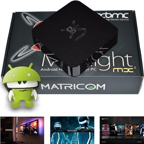 Matricom G-Box MX2 Dual Core XBMC Android 4.2 TV Box + Special Edition XBMC