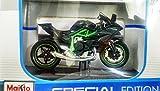 Maisto Kawasaki Ninja H2R Diecast Bike-1:18 Special Edition - Multi Color