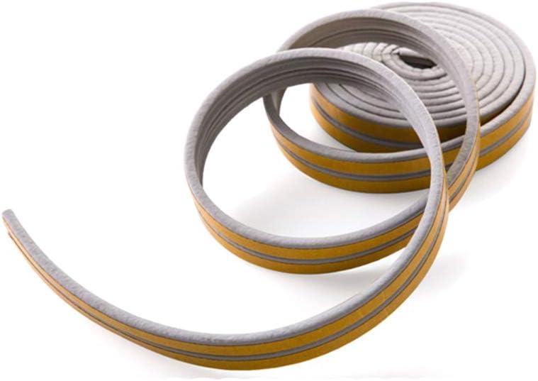 lindahaot Wasser-Proofing-Band T/ürisolierung Dichtungsband Fenster Anti-Kollisionsselbstklebestreifen