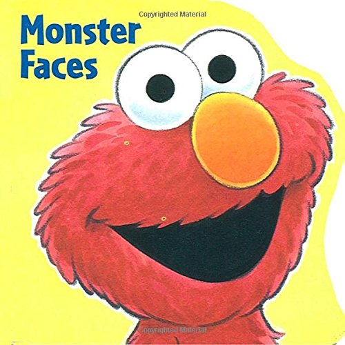 [Monster Faces (Sesame Street) (A Chunky Book(R))] (Halloween Sesame Street)