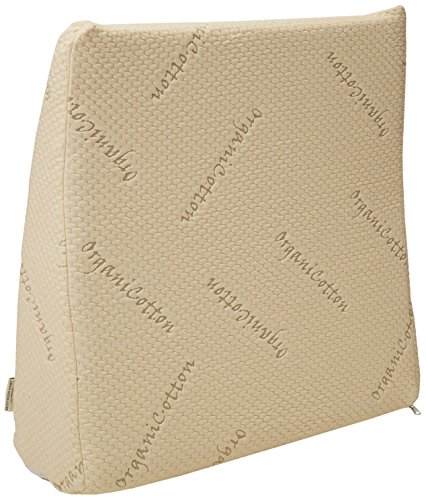 Brentwood Home Pfeiffer Therapeutic Gel Foam Wedge Pillow, Made in USA, 8-inch ()