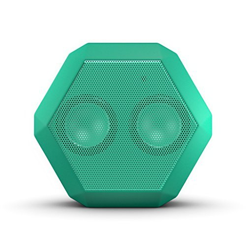 Boombotix Boombot REX Wireless Ultraportable Weatherproof Bluetooth Speaker for iPods Smartphones Tablets and Laptops - Spring Mint (Newest Version)