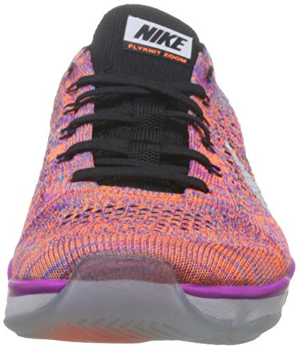 Nike Damen Zoom Fit Agility Low Top Schnürrunning Sneaker Hyper Violet / Weiß-schwarz-total Orange