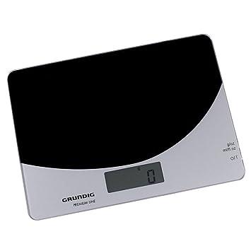 Grundig KW 5040, LCD, Negro, 2 x AAA, Vidrio - Báscula de cocina: Amazon.es: Hogar