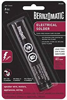 BernzOmatic SRC050 .5 oz. Lead Free Rosin Core Solder