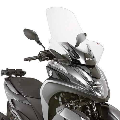 Pare Brise Bulle SPECIFIQUE 2120DT D2120KIT MBK TRYPTIK 125 2014 2017 Moto GIVI