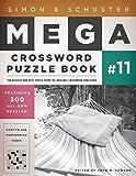 Simon & Schuster Mega Crossword Puzzle Book #11 (S&S Mega Crossword Puzzles)