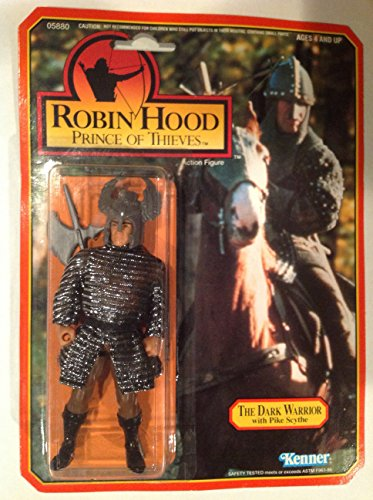 (The Dark Warrior with Pike Scythe 1991 Robin Hood Prince of Thieves Action Figure)