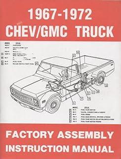 chevrolet gmc pick ups 1967 thru 1987 haynes repair manual rh amazon com 1971 Chevy C10 1971 Chevy C10