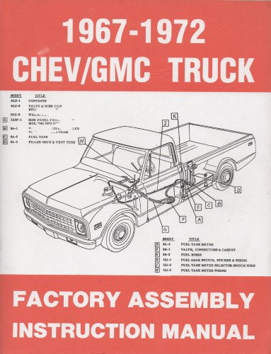 1967 1972 Trucks Chevy (1967-1972 Chevy/gmc Truck Factory Assembly Instruction Manual)
