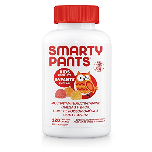 51xcH1aEfKL Smartypants Kid Multi Vitamin Omgea3 and D, 120 ct